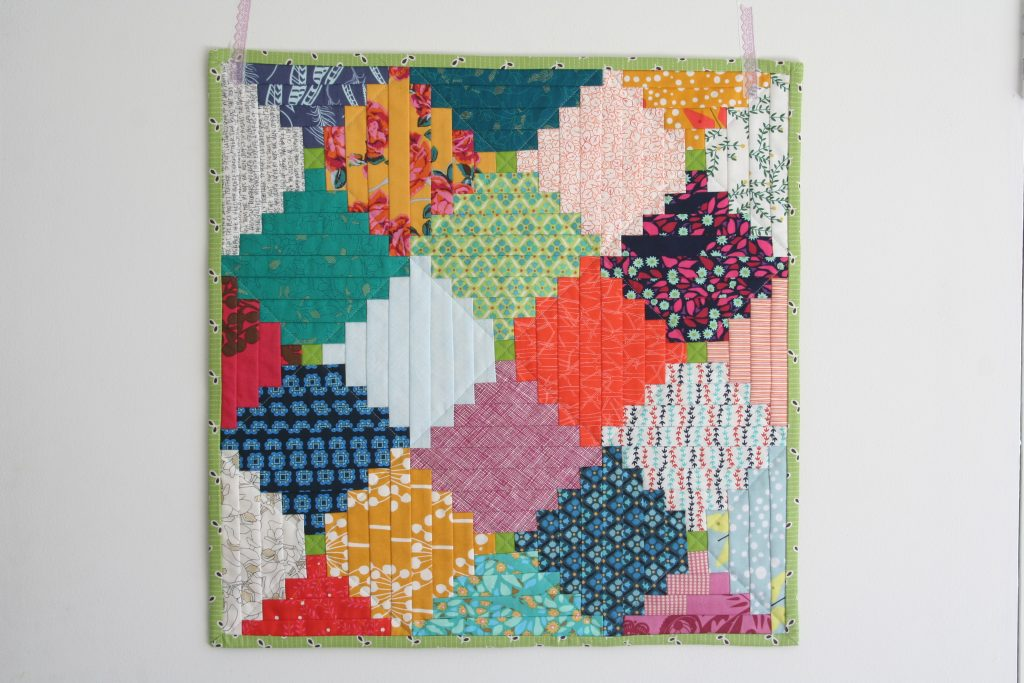 Courthouse Steps quilt mini