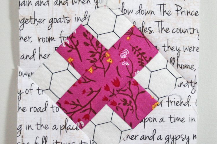 Raspberry Kiss Block Tutorial by Wooden Spoon Quilts