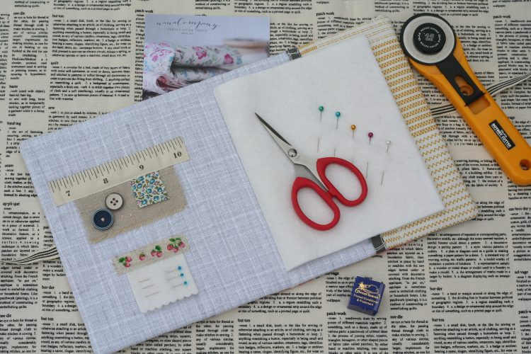 Needle Book by Amy Sinibaldi
