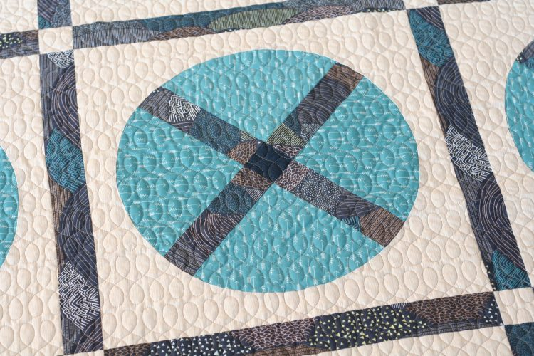 Wagon wheel wip by wooden spoon quilts