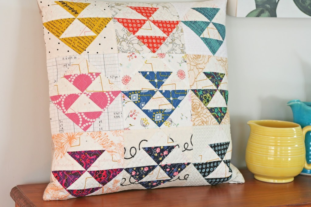 wooden spoon quilts pillow