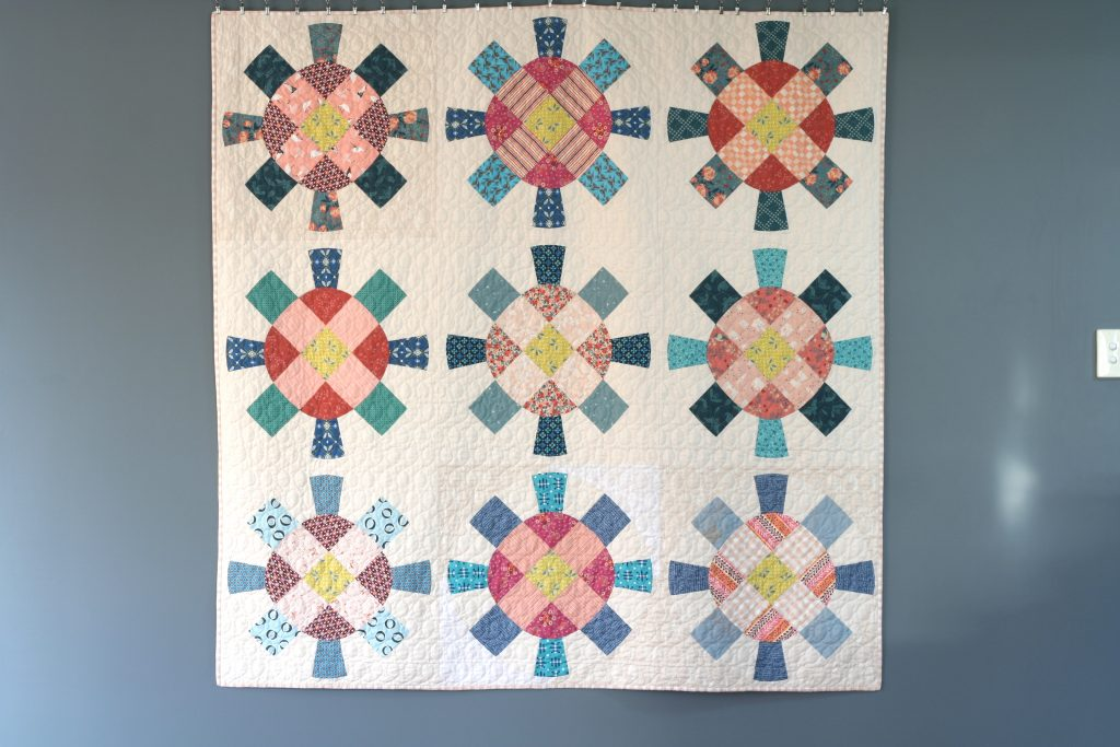 Cog and Wheel quilt
